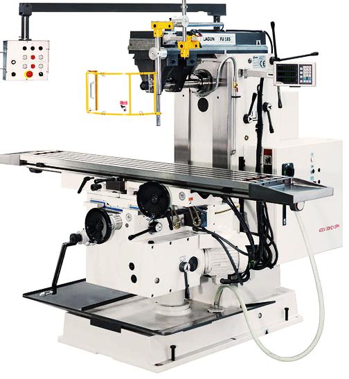 Machine photo of Lagun universal horizontal mill FU-185-EF