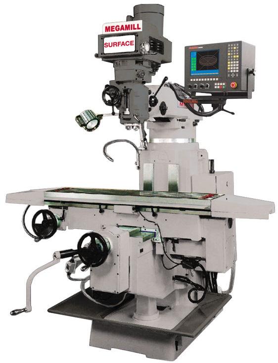 Vertical Mill Mega Surface Machine Photo