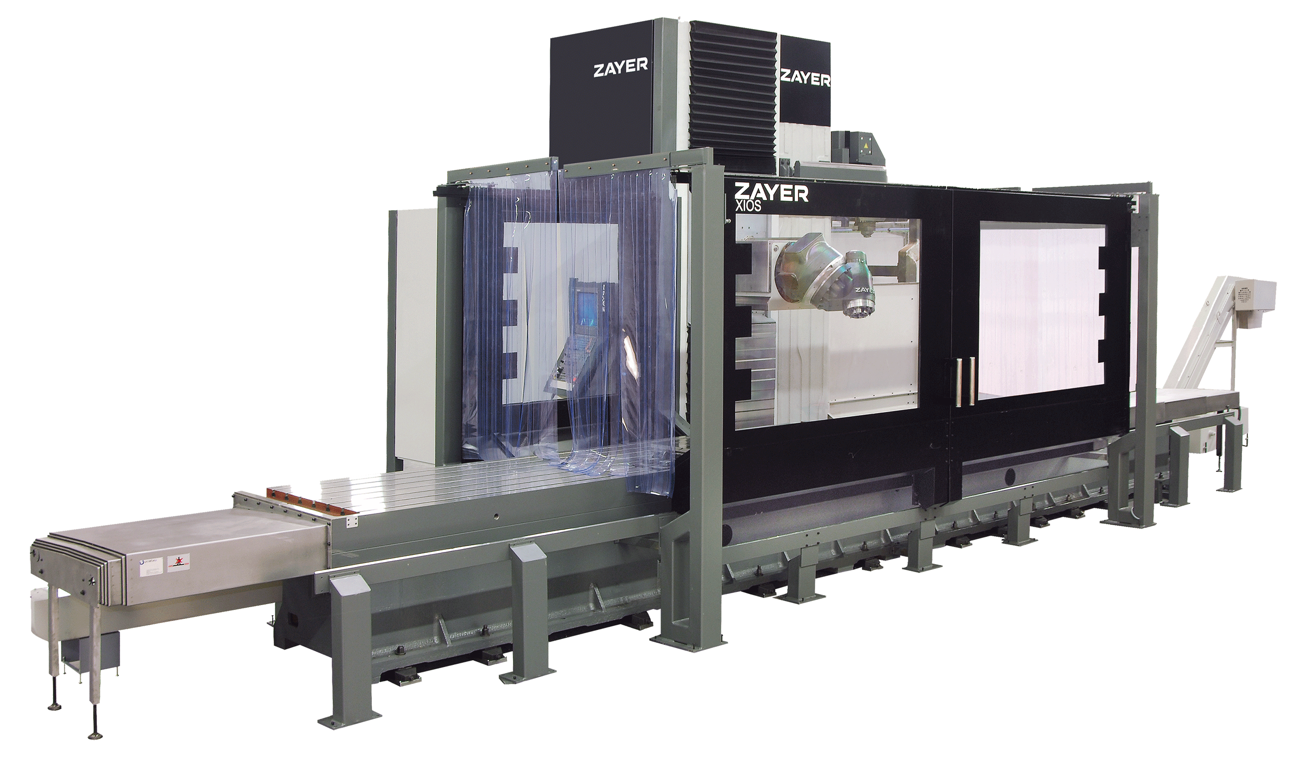 Zayer Xios Bed Mill Machine photo