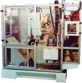 machine photo of rounding and chamfering machine